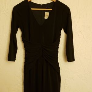 NWT Ann Taylor Fitted 3/4 Sleeve Stretchy Dress